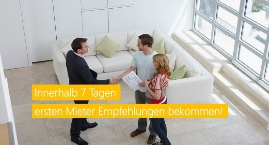 Vermieten Sie Ihre Immobilie schneller ohne Provisionspflicht.
